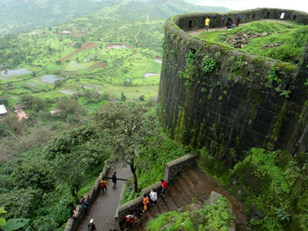 Trek Up Sinhagad Fort