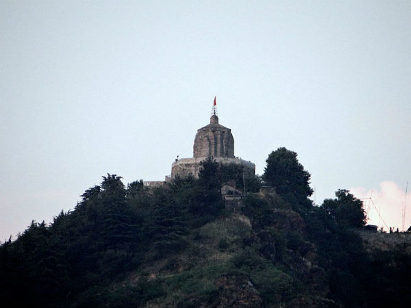 1. Shankaracharya Temple