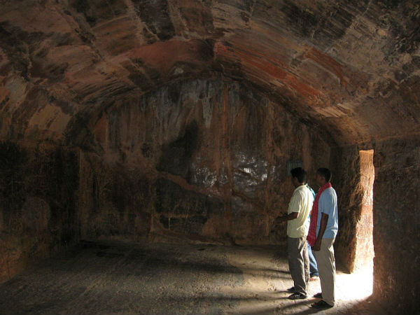 son bhandar caves at rajgir