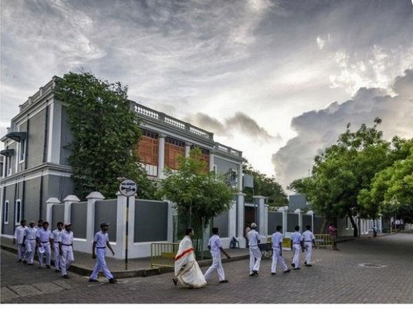 Seeking Peace At Aurobindo Ashram Pondicherry