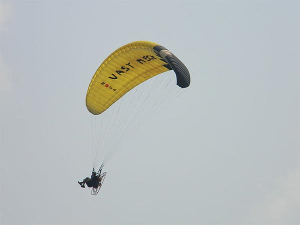 Paragliding at Yelagiri!