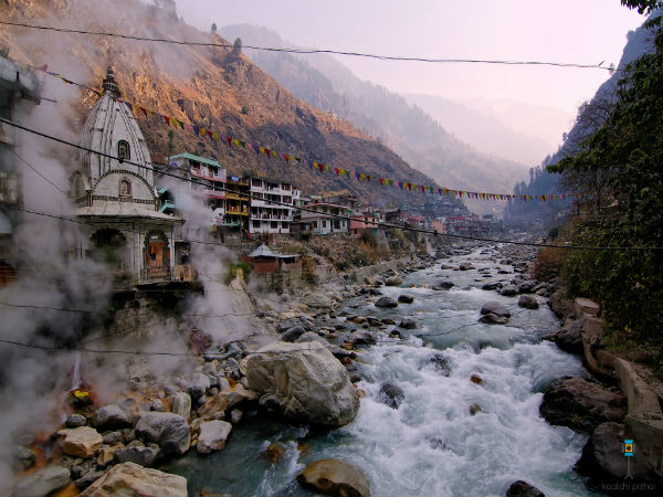 The Town Of Conflux Of Faith: Manikaran