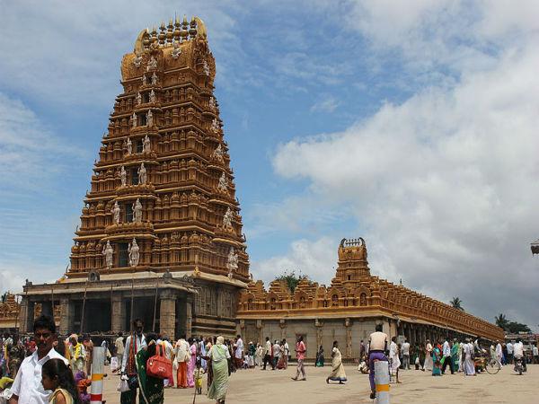 The Century Old Sri Kanteshwara Temple At Nanjangud