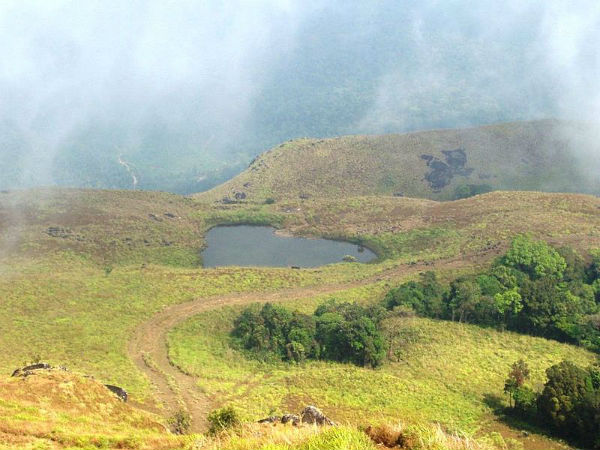 Trekking To The Chembra Peak
