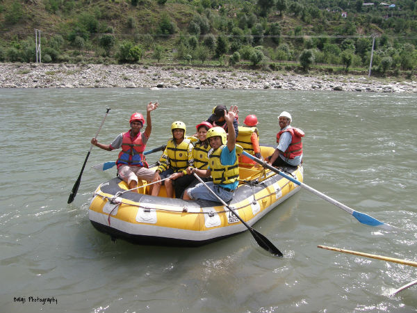 River Rafting At Vaitarna River