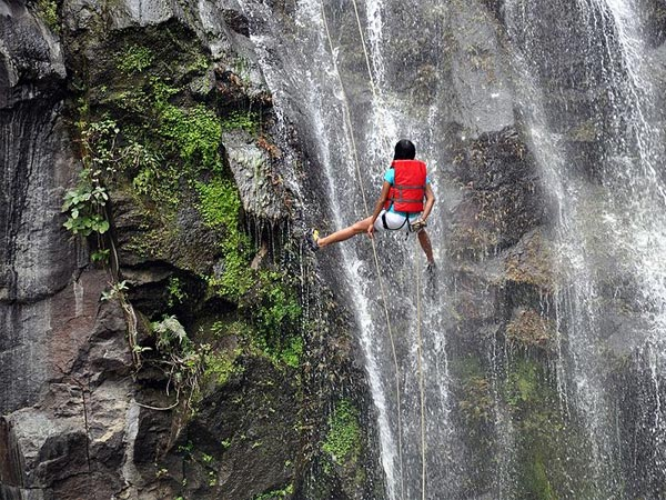 Dudhiware Waterfall Rappelling