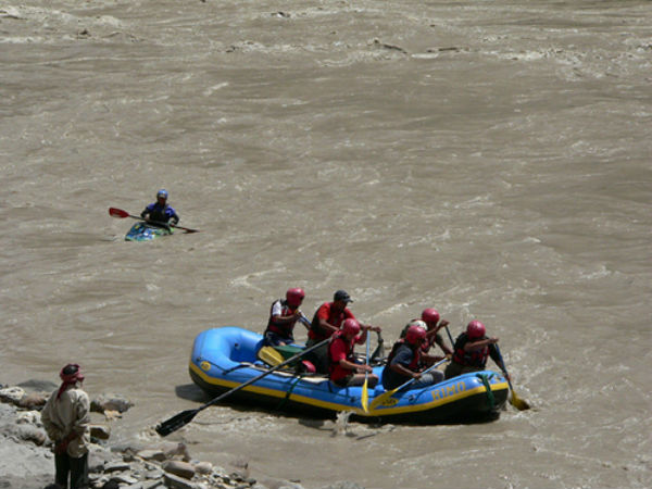 3. River Rafting In The Indus River