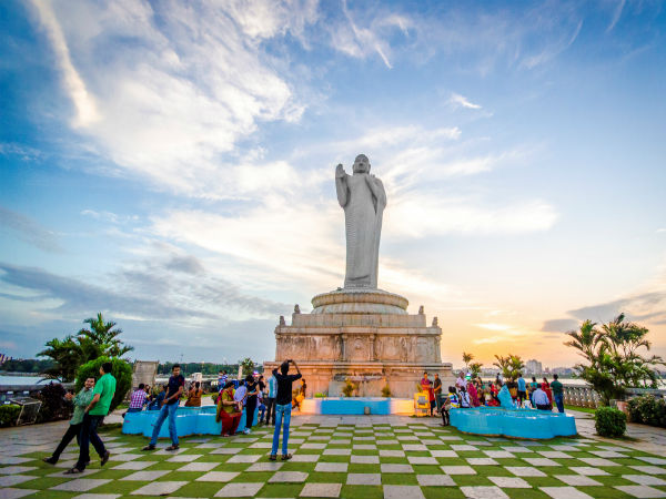 8. Feel Peace At Hussain Sagar Lake