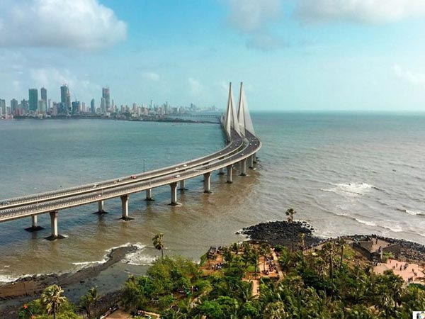Drive Through The Bandra-Worli Sea Link