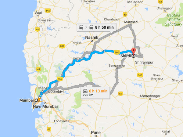 How To Get To Shirdi?