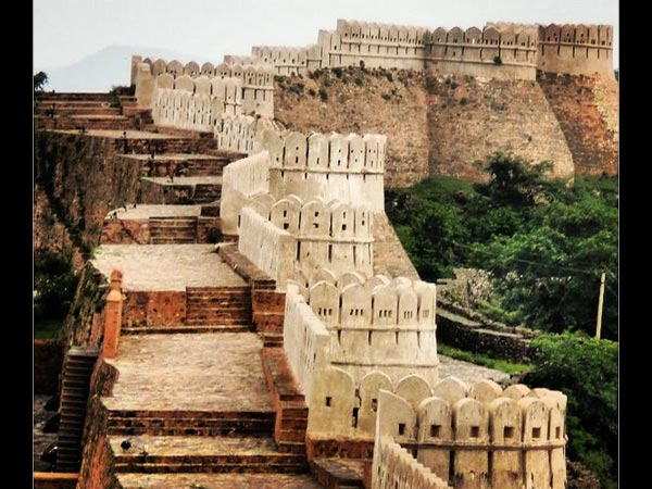 Wall Of Kumbhalgarh Fort – Great Wall Of China