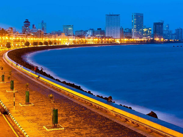 Marine Drive To Bombay Fort Area