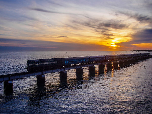 2. Pamban Bridge