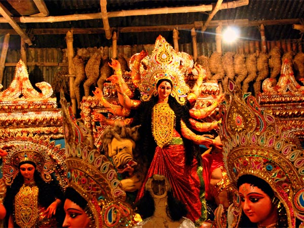 Attend The Durga Puja Of Agartala