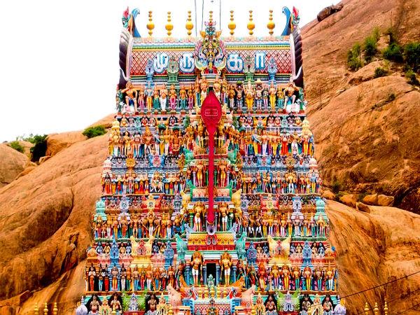 Aarupadai Veedu - The Six Abodes Of Lord Muruga In Tamil