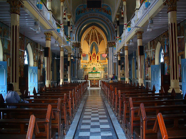 6. Basilica of our lady of the Mount, Bandra