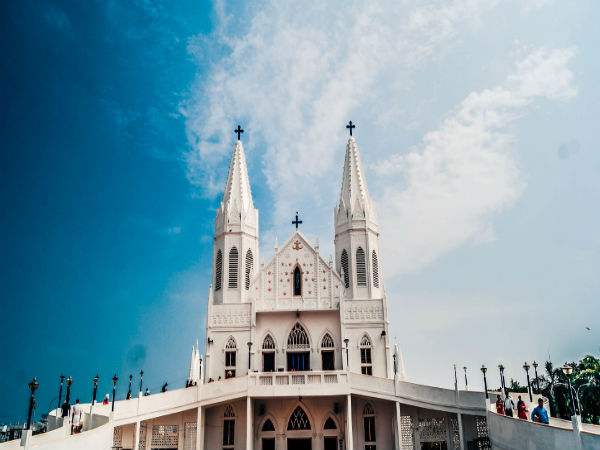 4. Velankanni Church, Tamil Nadu