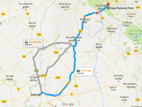 How To Reach Rajaji National Park