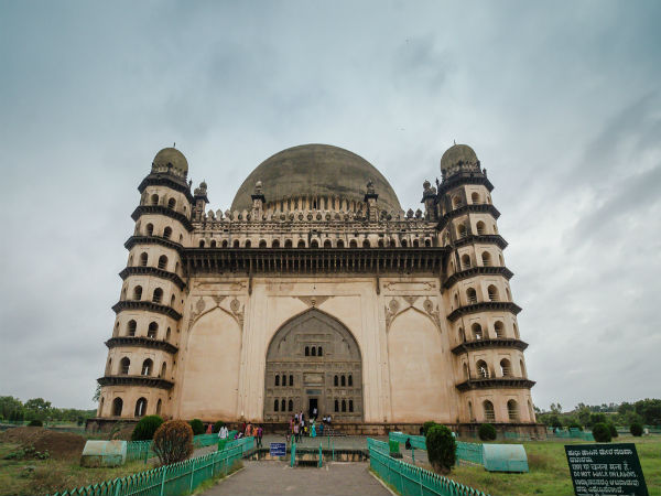 Speak Out At Whispering Gallery At Gol Gumbaz