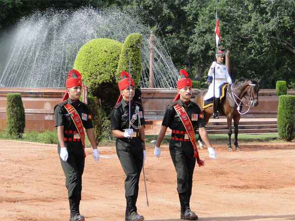 Witness The Change Of Guards Ceremony