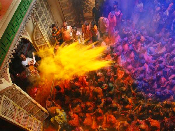 2. For Its Colourful Festivals