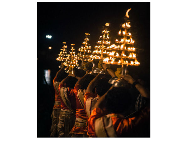 3. For The Ganga Aarti