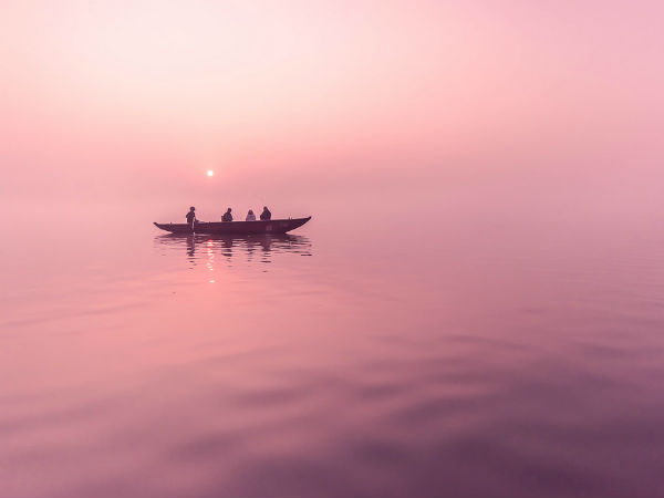 7. For The Boat Rides In Ganga