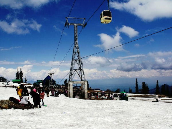 Hop In For A Ride On Gulmarg Gondola