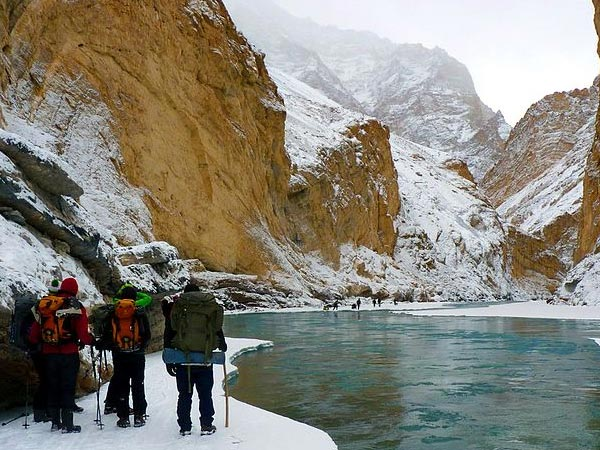 Go For The Chadar Trek In Ladakh
