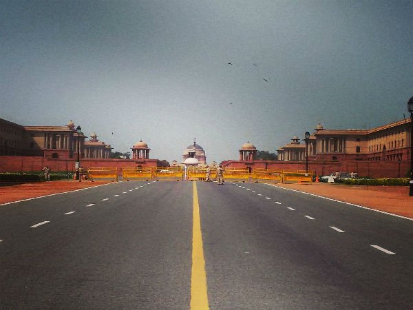 Rashtrapathi Bhavan To India Gate