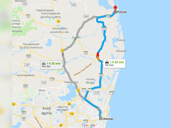 Trip To Pulicat From Chennai