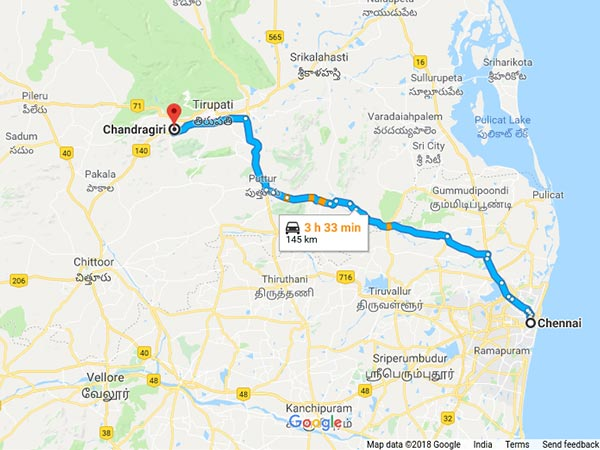 How To Reach Chandragiri