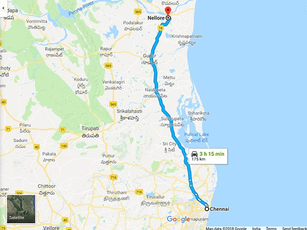 How To Reach Nellore From Chennai