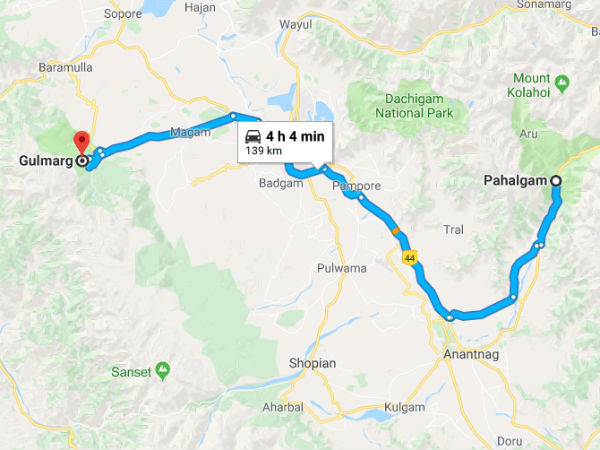 How To Get To Gulmarg