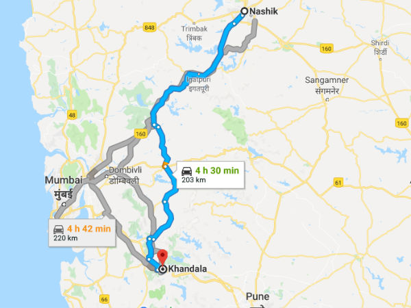 Different Routes To Reach Khandala