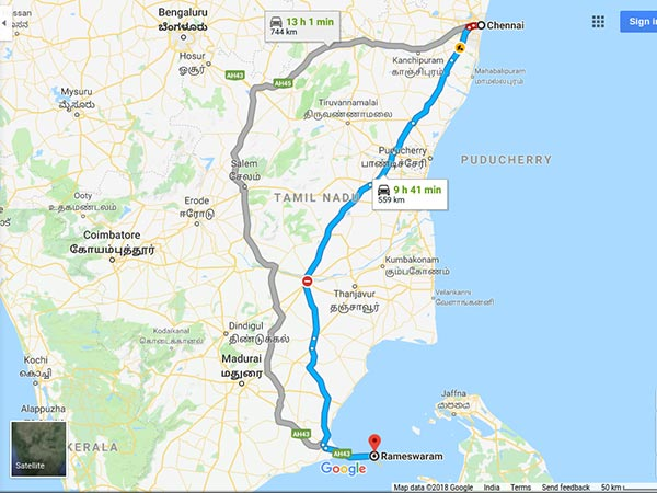 How To Reach Rameswaram From Chennai