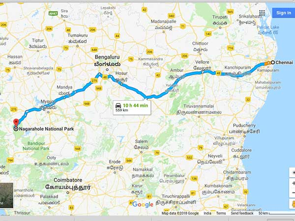 How To Reach Nagarhole National Park