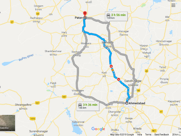 How To Reach Patan From Ahmedabad