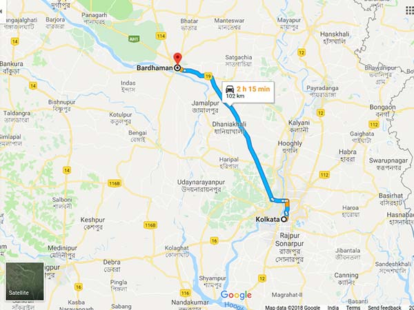 How To Reach Bardhaman From Kolkata