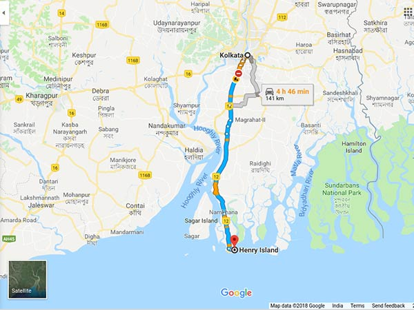 How To Reach Henry's Island From Kolkata