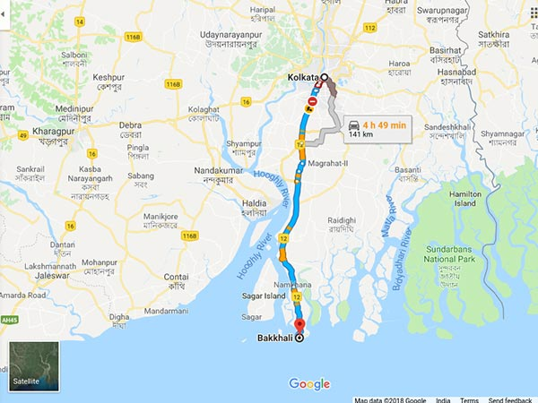 How To Reach Bakkhali From Kolkata