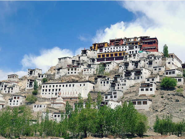 A Little Bit About Thiksey Monastery