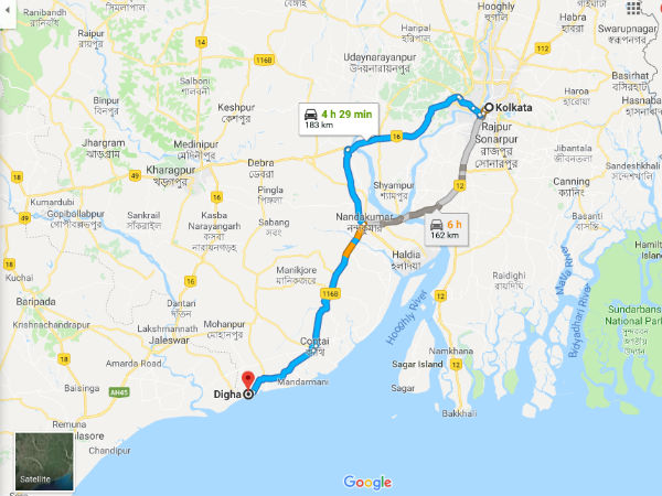 How To Reach Digha From Kolkata