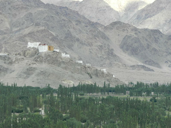 The Formation Of Thiksey Monastery