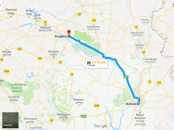 How To Reach Durgapur From Kolkata