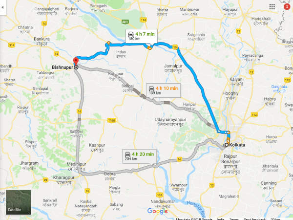 How To Reach Bishnupur From Kolkata
