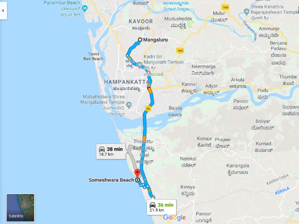 How To Reach Someshwar Beach