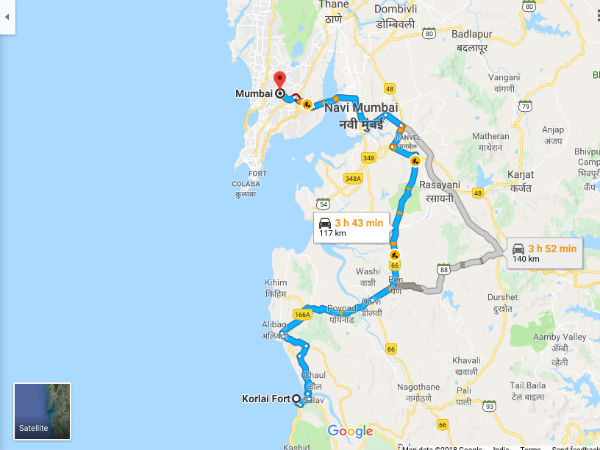 How To Reach Korlai Fort