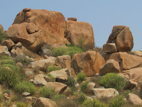 4. Climb Up The Boulders