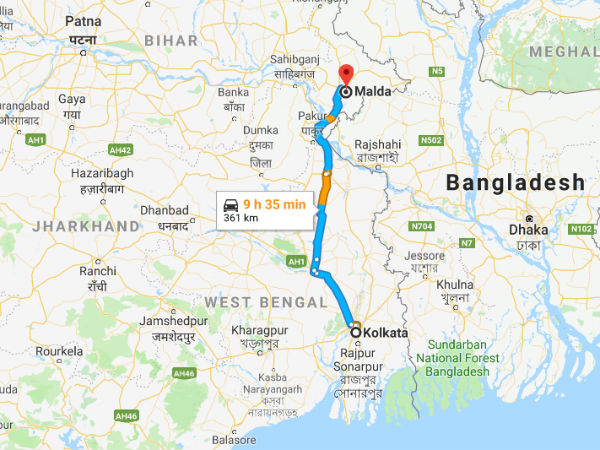 How To Reach Malda From Kolkata